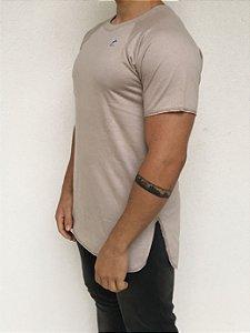 T-shirt Longline Raglan Off White
