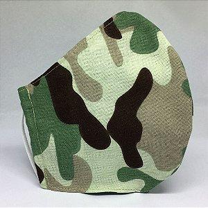 Máscara de Tecido Bico de Pato Camuflada - Modelo CT