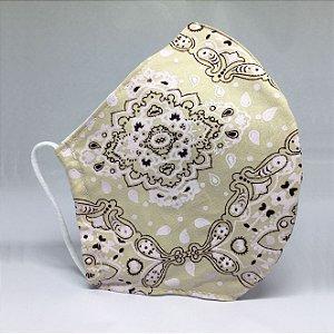 Máscara Bico de Pato Bandana Bege - Modelo CT