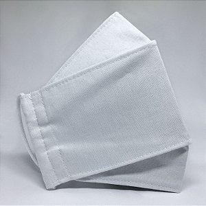 Máscara TRIPLA Camada 3D Branca