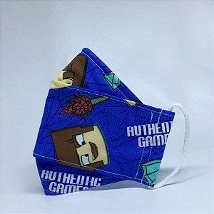 Máscara 3D Infantil Diversas - Dupla Camada