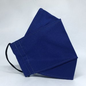 Máscara 3D Azul tipo Jeans - Tripla Camada