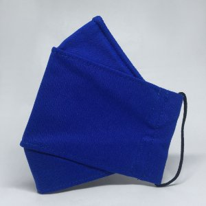 Máscara 3D Azul Royal - Tripla Camada