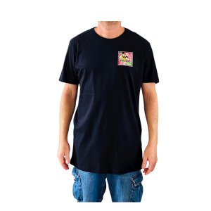 Camiseta Rvca Va All The Way Preto