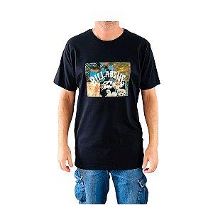 Camiseta Billabong Arch Patch Preto