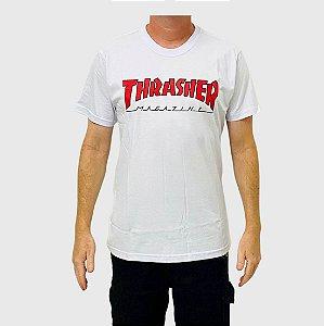 Camiseta Thrasher Outlined Branco