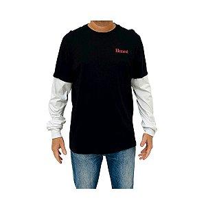 Camiseta Element Manga Longa Layers Preto