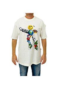 Camiseta High Zord Branco