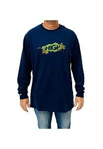 Camiseta High Longsleeve Lunch Azul