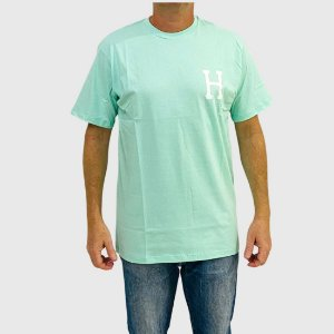 Camiseta HUF Global Trip H Verde Agua
