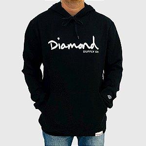 Moletom Diamond Gem Preto