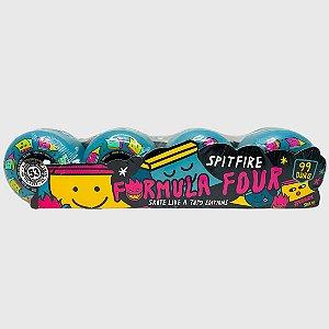 Roda Spitfire Formula Four 99 Like Girl Blue 53mm  Original