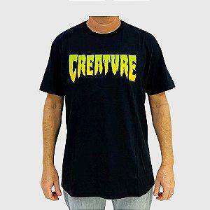 Camiseta Creature Logo Preta