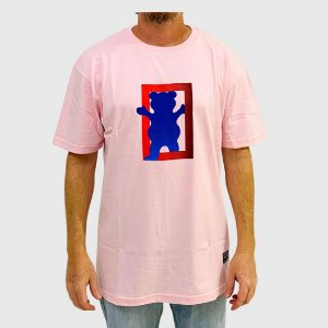 Camiseta Grizzly Out Of The Box SS Rosa