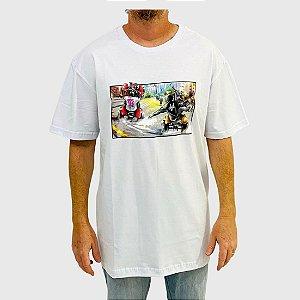 Camiseta DGK Riders Branco