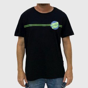 Camiseta Santa Cruz Obscure Dot Preto