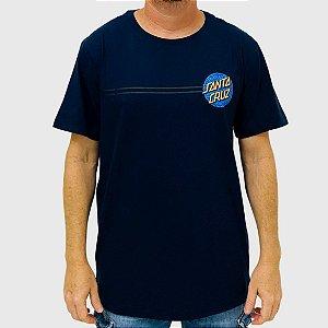 Camiseta Santa Cruz Obscure Dot Azul Marinho