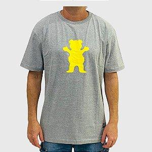 Camiseta Grizzly Og Bear Cinza
