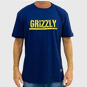 Camiseta Grizzly Stamp Roxo
