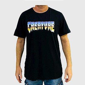 Camiseta Creature Chrome Preto