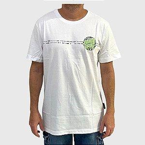 Camiseta Santa Cruz Flier Dot Branco