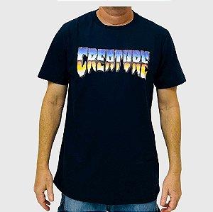Camiseta Creature Chrome Marinho