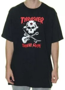 Camiseta Thrasher Magazine Skate Rock