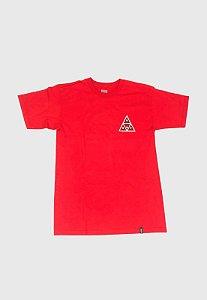 Camisa Huf x Spitfire Triple T Importada Vermelha