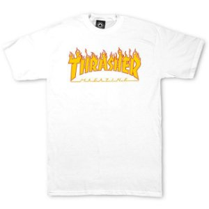 Camisa THRASHER Flaming White