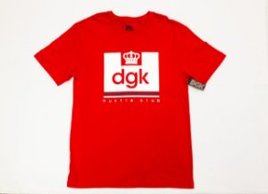 Camisa Dgk Hustle Club Red