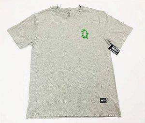 Camisa Grizzly Leaf Cutout Cinza