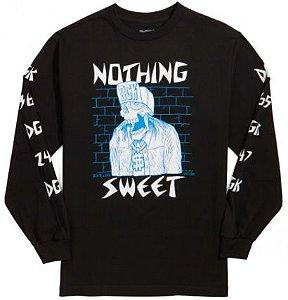 Camisa DGK Manga Longa Nothing Sweet Black G