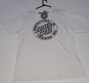 Camiseta Santa Cruz White GG