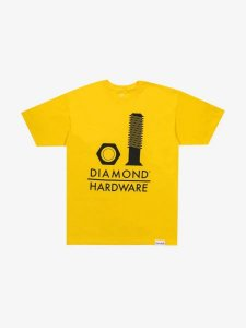 Camisa Diamond Secured Tee Gold G
