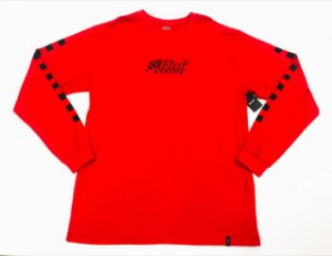 Camisa Manga Longa Huf Red GG
