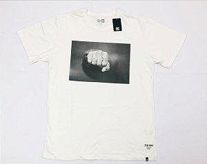 Camisa DC Basic M/C Tiago Hand Snow White
