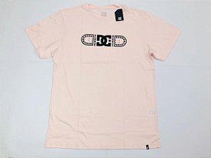 Camisa DC Bas M/C Outline Rosa Claro