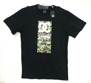 Camisa DC Bas M/C Protoco Preto