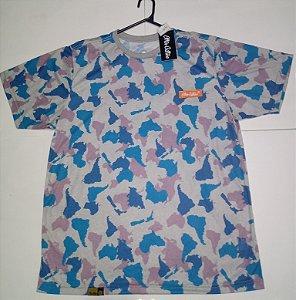 Camiseta Other Culture Camuflada Blue GG