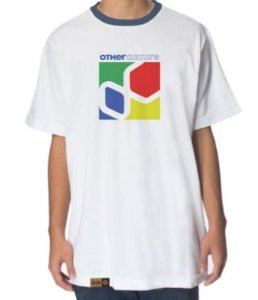 Camiseta Other Culture Brick White
