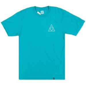 Camisa HUF Triple Triangle Green
