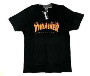 Camiseta Thrasher Feminina Flame Logo (Tam.: M)
