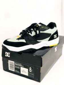 Tênis DC Shoes Maswell  Black/Grey/ Yellow Importado