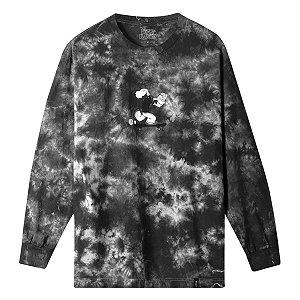 Camisa Manga longa Huf x Popeye Skates Black