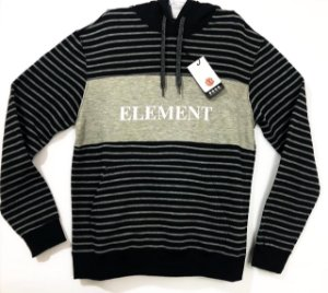 Moletom Element Striped Block Com Capuz Tam M