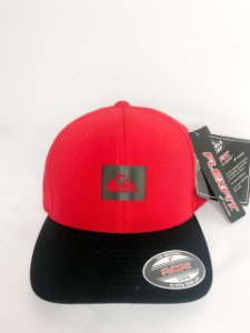 Boné Quiksilver Hairline Texture 6 Panel Fechado Original