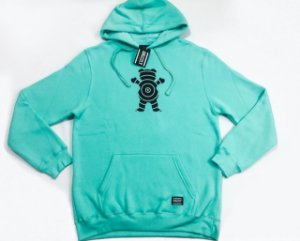 Moletom Grizzly Vortex Bear Hoodie Verde Original