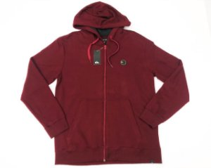 Moletom Quiksilver Patch Open Com Ziper Original Tam. M