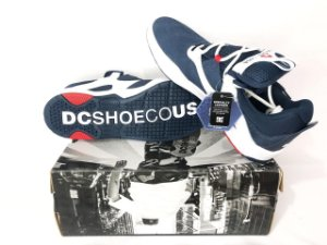 Tênis Dc Shoes  Kalis S Imp Navy And White Original