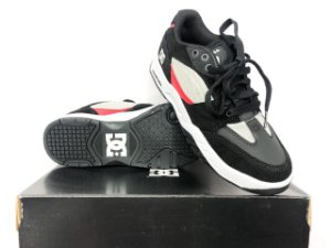 Tênis Dc Shoes Maswell Grey/black/red Imp Original